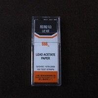 Lead Acetate Paper 100strip Pcs 10pcs Pk