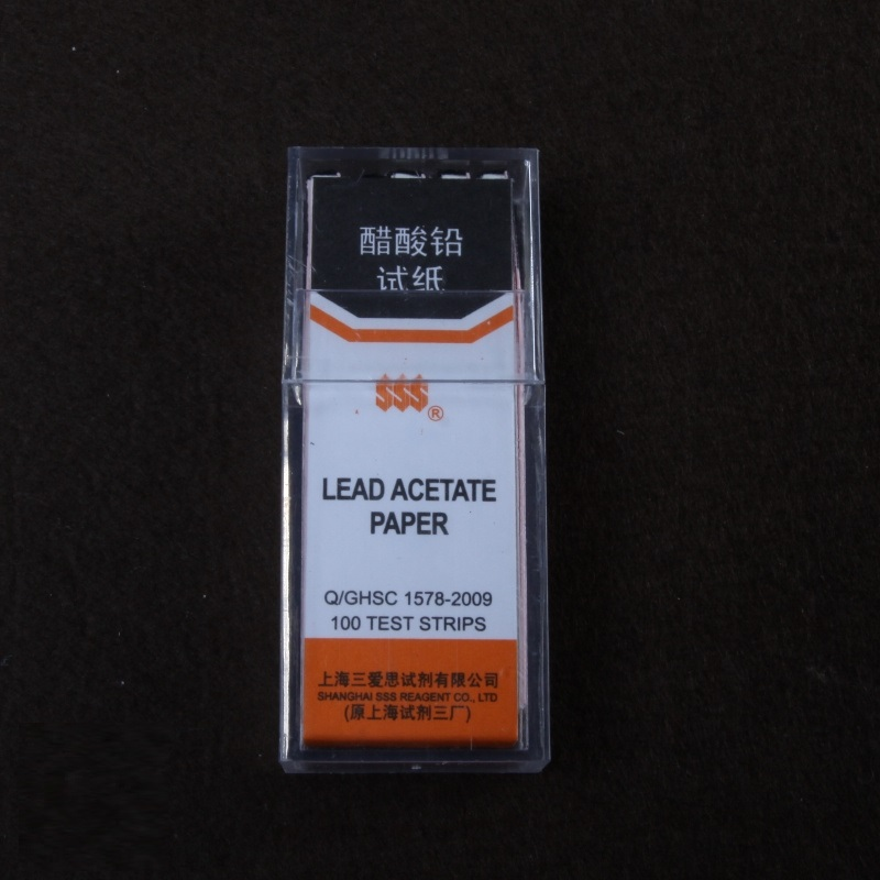 Lead acetate paper 100strip/pcs, 10pcs/pkLead acetate paper 100strip/pcs, 10pcs/pk