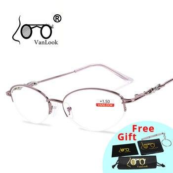 Gafas de Lectura para mujer, Gafas para miopía larga, Gafas para ordenador...