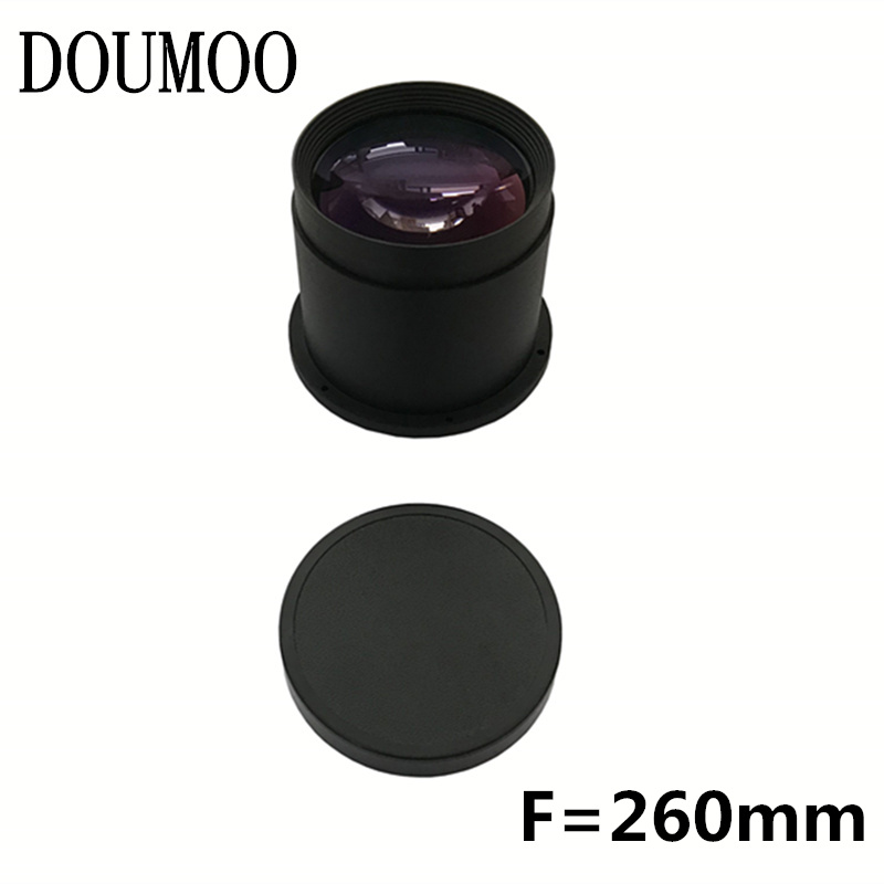 free shipping DIY projector lens F=260mm 38 layers coating high definition lens HD projection proejector lens for LCD 5-20 inch цена и фото