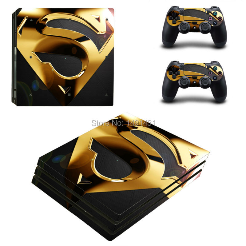OSTSTICKER Vinyl Skin Sticker for PS4 Pro Console Decal Cover Game Accessories