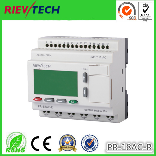 RIEVTECH,Micro Automation Sulutions Provider. Programmable Relay PR-18AC-R