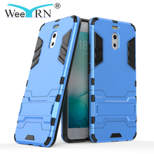 3-in-1 Hybrid Shockproof Military Case Meizu M6 Note / M5 Note Armor Hard Stand Case Meizu M6 Note Heavy Duty Back Cover M5 Note цена и фото