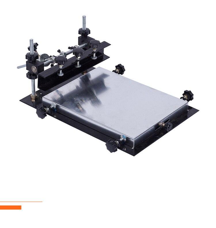 Sérigraphie Machine à souder pâte écran imprimante SMT manuel bloc d'impression petit écran en soie fait main