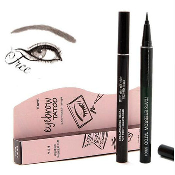 Waterproof Brown 7 Days Eye Brow Eyebrow Tattoo Pen Liner Long Lasting Makeup Eyebrow Pen