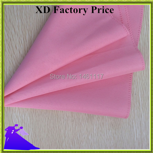 high quality factory directly 100% polyester restaurant / wedding napkin with plain & handmade& square