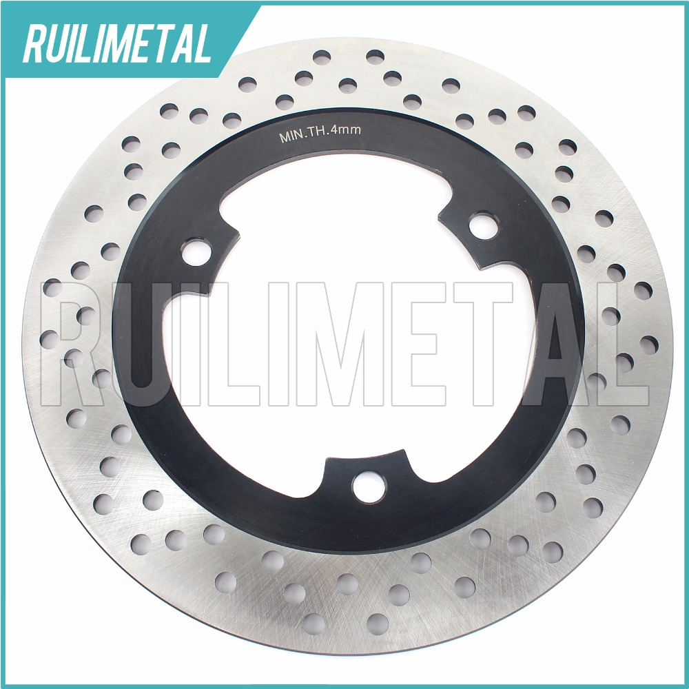Rear Brake Disc Rotor for KAWASAKI Ninja 500 R ZR 250 Balius ZR 250 Balius II 1997 1998 1999 2000 2001 2002 2003 2004 2005 mfs motor front rear brake discs rotor for suzuki gsxr 600 750 1997 1998 1999 2000 2001 2002 2003 gsxr1000 2000 2001 2002 gold