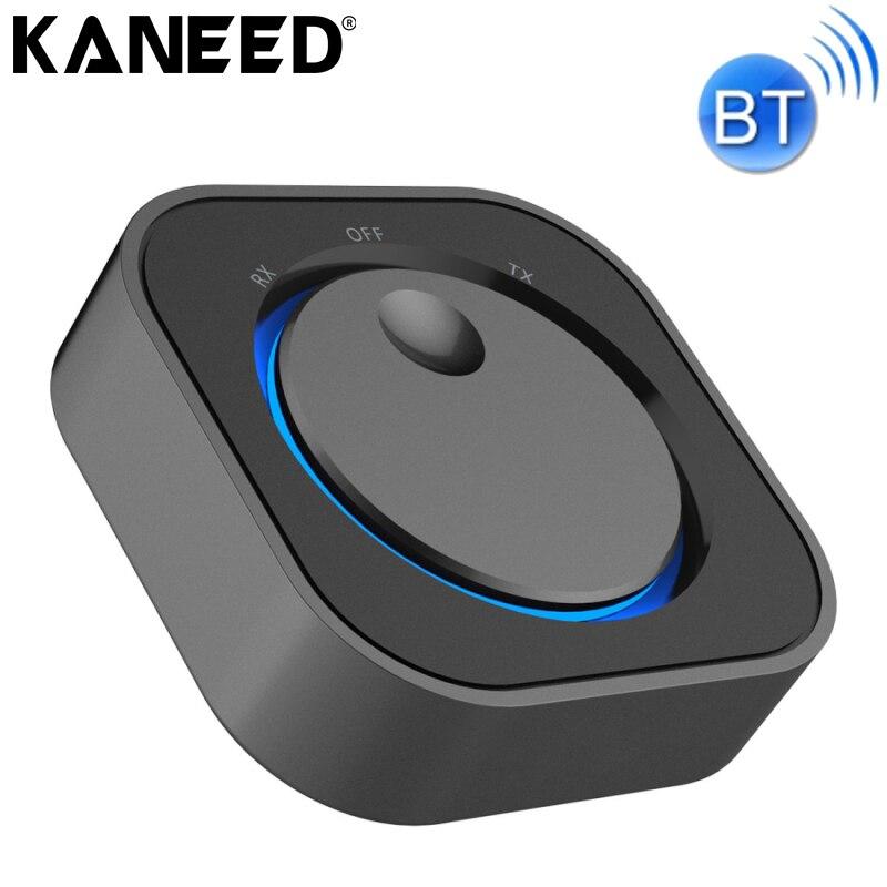 Kaneed Беспроводной приемник <font><b>Bluetooth</b></font> 3.5 мм Jack Беспроводной <font><b>bluetooth</b></font> передатчик и приемник для аудио стерео адаптер Dongle <font><b>RX</b></font> TX