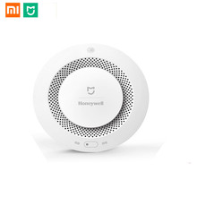 Xiaomi Mijia Home Alarm  Fire Alarm Detector Remote Control Audible Visual Alarm Notification Work With Mi Home APP alarm access control expansion board alarm output and fire control expansion controller 4 line fireproof control enhanced alarm