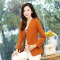 New 2017 Women blazer and Jacket Korean Style Long Sleeve  ladies Suit Female Blaser Outerwear Business basic coat Mujer