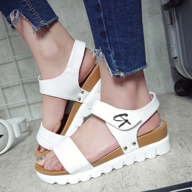 with paypal low price Leisure All-match Thick Soled Sandals finishline online free shipping shop for hDGlqOPb