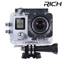 "10pcs/lot 4K Wifi Action Camera SJ8000R 4K/30fps 1080P/60fps 720P/120fps 2.0"" 170D Helmet Cam Mini Camera Waterproof Camera"