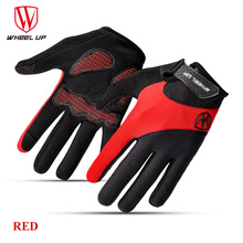 WHEEL UP full finger touch screen cycling font b gloves b font autumn road mtb mountain