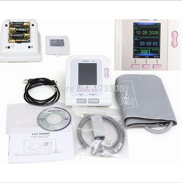 CONTEC08A SPO2 սենսորով թվային ավտոմատ NIBP - Առողջապահություն