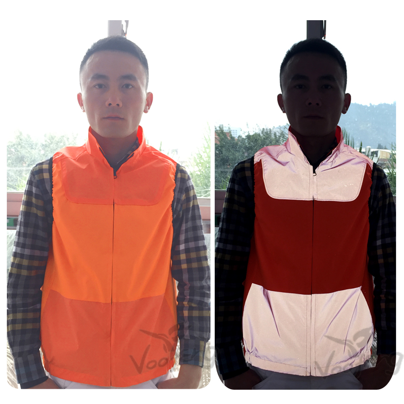 hot sell colorful reflective vest for cycling safety clothing free shipping цена