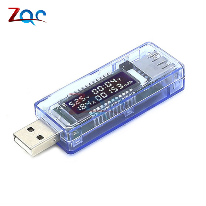 USB Charger Doctor Voltage Current Meter Working Time Power Battery Capacity Tester Measurement Tools usb charger doctor battery tester power detector voltage current meter measurement instruments bs