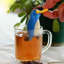 Nice New Fashion Platypus Shape Tea Infuser Loose Leaf Strainer Bag Mug Filter Kitchen Tool