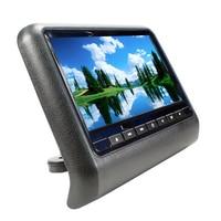 9 inch TFT LED Screen Headrest monitor Car DVD Player & Game DVD USB SD IR Transmitter Portable Headrest Monitor SH9808DVD