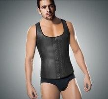 Men's Weight Vest Body Girdles Men Waist Cincher Casual Compression Underwear Mens Bodysuit Underwear Tights Slimming Corset 6XL