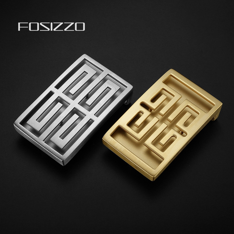 FOSIZZO Slide Buckle Stainless Steel Not Easy Rust And Paint Off Buckle Width 3.8CM (Fit 3.4-3.8CM Strap) ZG37