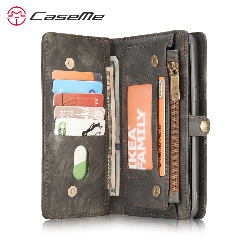 best website 85983 30699 Retro Leather Case Samsung S8 Wallet Case Card Slot Magnetic Cover Galaxy  S8 Wallet Samsung Galaxy S8 Plus