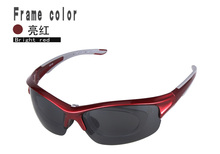 2017 New style Hot sale polarized Lens Outdoor Running riding cycling sport sunglasses myopia frame lady glasses men goggles