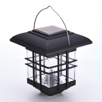 Light Operated Solar LED Lantern NI MH 60mA Battery Outdoor Lighting Yard Household Hanging Light No
