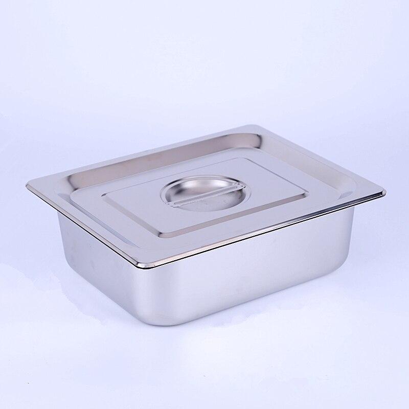 Metal aluminum Bain Marie 7L Jam Food Pan buffet warmer Inserts ice sauce soup stock pots