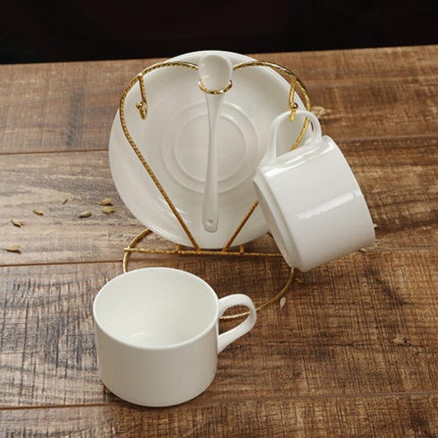 British Bone belle chine céramique café Cappuccino chinois blanc tasse à café Porselen Fincan outils de vaisselle 6B5025
