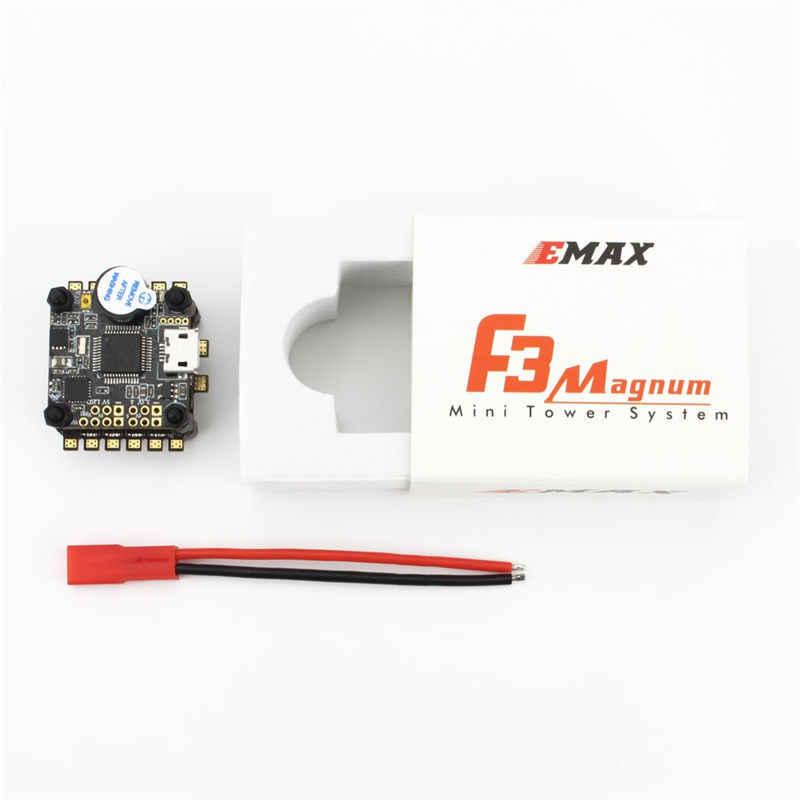 Emax F3 Magnum Мини-Башня Системы 20*20 мм 3-4 S BLheli_S 12A 4 в 1 ESC + F3 контроллера полета OSD для RC Полетный контроллер рамки части