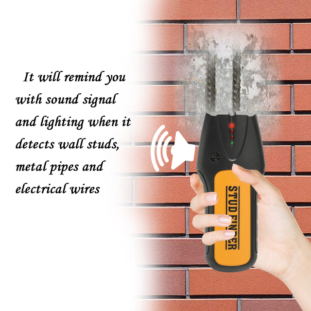 us $12 19 handheld metal detector wall detects electronic stud sensor cable scanner wood stud finder wire sensor cable scanner ts78b in industrial bosch wall scanner singa z 3 in 1 lcd digital stud finder