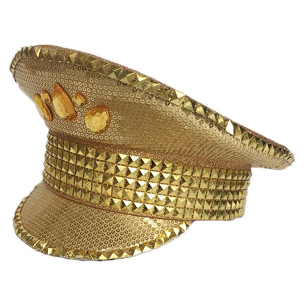 Gorra dorada de alto rendimiento británico de alta calidad gorra ... 4b4d268bb94