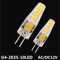5PCS G9 led  Bulb 2W  SMD2835 LED lamp light Replace halogen lamp light DC/AC 12V