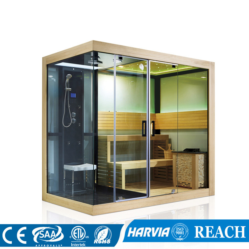 Us 10200 0 Hotel And Home Use Luxury Sauna Steam Room Shower Combination Construction Project Dry Wet In Rooms From