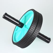 Free shipping Double wheeled AB wheel abdominal wheel rollers fitness equipment home AB fitness wheel