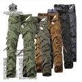 PANTALONES de CARGA Marca Hombres Ropa TÁCTICA Uniforme de Trabajo Estilo de Combate de Camuflaje Pantalones de Camuflaje Pantalones MILITARES Pantalones Casuales Masculinos