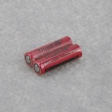 TrustFire IMR 14500 700mAh 3.7V Rechargeable Li-ion Battery Power Batteries Output 5A For E-cigarette Flashlight Flat Top стоимость