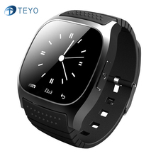Teyo M26 Smart Watch Bluetooth Android With SMS Message Remind Music Waterproof Pedometer Smartwatch for Samsung Huawei Xiaomi