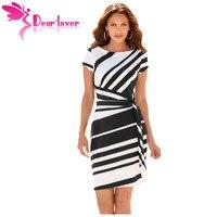 Dear Lover Black Lace Top Skater Dress LC22549