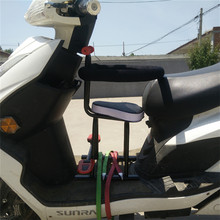 Electric bicycle electric trolley child seat prepositioned , full battery car pedal baby motorcycle