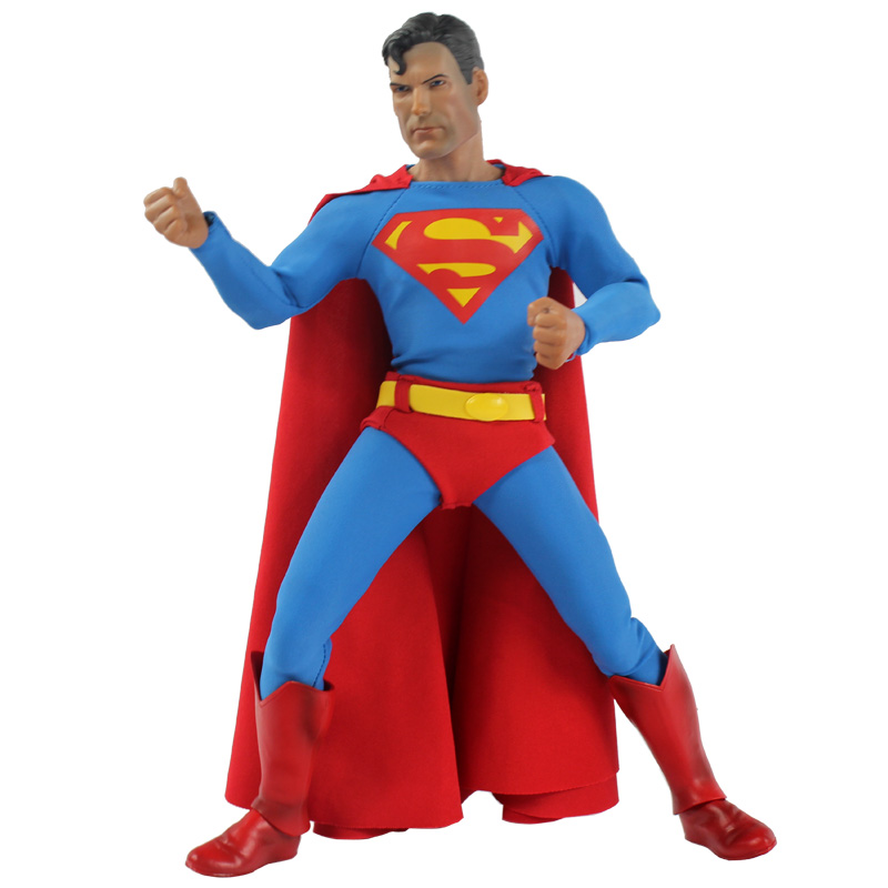 32cm DC Comic Classic Superman Action Figure Collectible Anime Cartoon Movies Model Toys for Children Gift with original box oreimo comic anthology