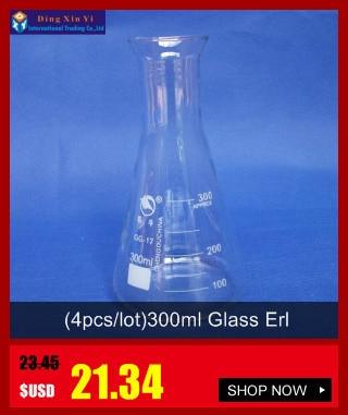 50-2000 мл стеклянная коническая колба с крышкой стеклянная колба Erlenmeyer стекло для лаборатории треугольная фляга Boro 3,3 стекло
