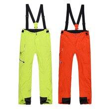Ski pants men and women plus size pure color  2014 Phibee the new thickened adult ski pants free shipping лыжный брючный костюм phibee phibee 2014