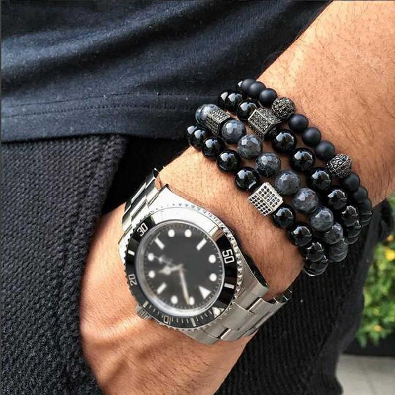 браслет мужской браслеты мужские бижутерия  мужской браслет браслет с камнями подарки для мужчин золотистый, серебристый цвет сплав CZ дискотечный шар для женщин мужчин пара браслеты ювелирные изделия
