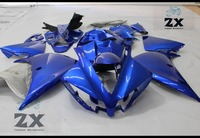 Complete Fairings For Yamaha yzf R1 2012 2013 2014 ABS Plastic Kit Injection Motorcycle Fairing bkue free windscree 11