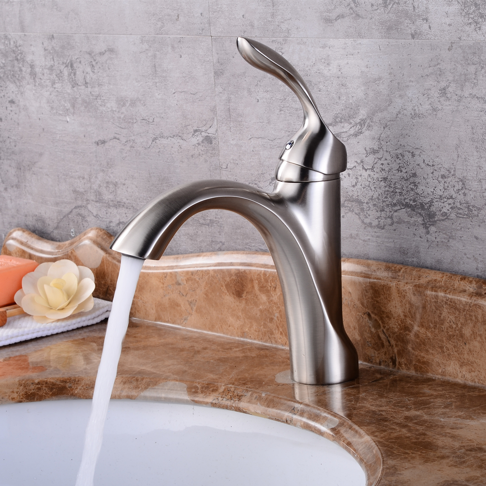 Best Bathroom Basin Sink Faucet Single Handle Kitchen Tap hot and cold water Basin Faucet Kitchen Faucet Torneiras Mci2