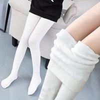 3-15Years Kızlar Kış Yüksek Elastikiyet Isıtıcıları Çorap Kaliteli YP01 Sıcak Artı Kalın Kadife Pantolon Çocuklar Tayt Pantolon Tutmak