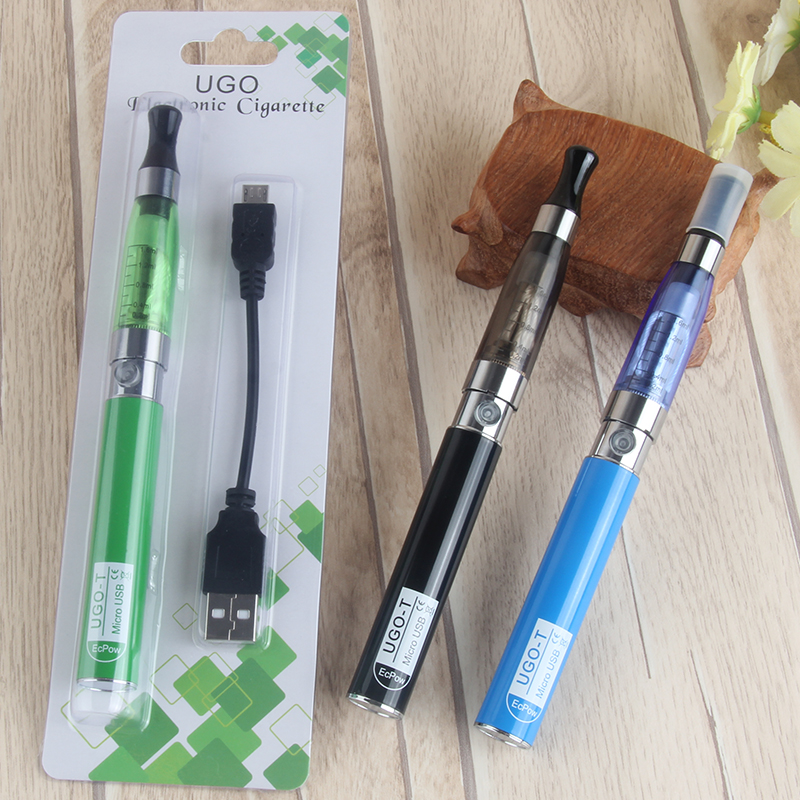 Electronic Cigarette Ego-T CE4 Blister Kit 650mah Battery Side USB Charge Vape Tank Atomizer Dropship