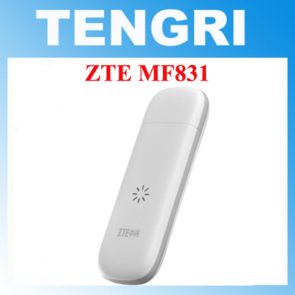 Prix pour Débloqué original zte mf831 150 mbps 4g lte usb modem hspa + 42mps usb dongle lte-fdd 800/900/1800/2600/2100 mhz tdd 2300/2600 mhz
