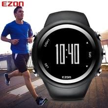 EZON GPS Velocidad Distancia Calorías Monitor de Deportes de Los Hombres Relojes A Prueba de agua 50 m Reloj Digital Corriendo Senderismo Reloj Montre Homme